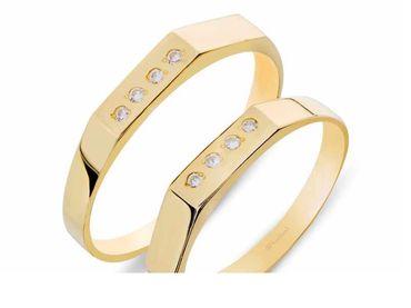 Nhẫn cưới Les Estoile NC 408 - Huy Thanh Jewelry - Hình 1