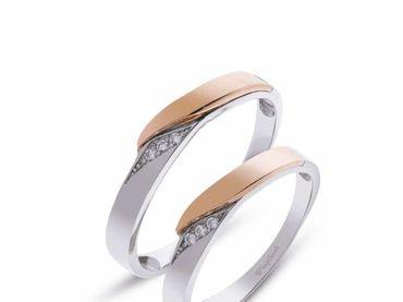 Nhẫn cưới Les Estoile NC 426 - Huy Thanh Jewelry - Hình 1