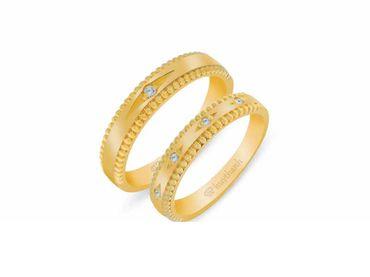 Nhẫn cưới Les Estoile NC 436 - Huy Thanh Jewelry - Hình 1