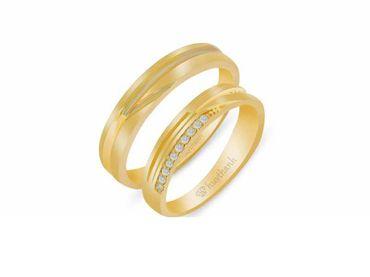 Nhẫn cưới Les Estoile NC 438 - Huy Thanh Jewelry - Hình 1