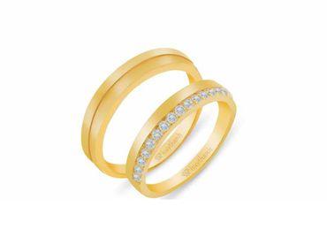 Nhẫn cưới Les Estoile NC 440 - Huy Thanh Jewelry - Hình 1