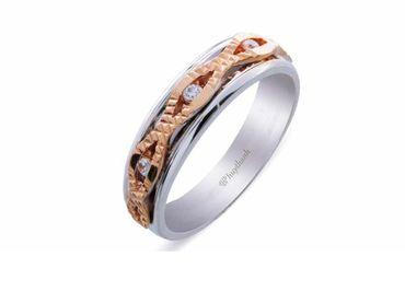 Nhẫn cưới Les Etoiles NC 364 - Huy Thanh Jewelry - Hình 2
