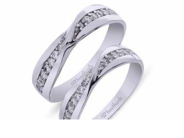 Nhẫn cưới Les Etoiles NC 382 - Huy Thanh Jewelry - Hình 1