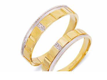 Nhẫn cưới Les Etoiles NC 384 - Huy Thanh Jewelry - Hình 1