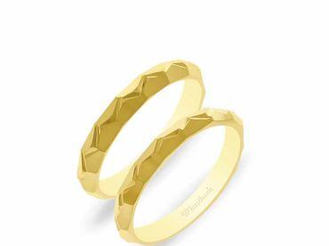 Nhẫn cưới NCP 06 - Huy Thanh Jewelry - Hình 1