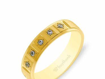 Nhẫn cưới NCP 13 - Huy Thanh Jewelry - Hình 4