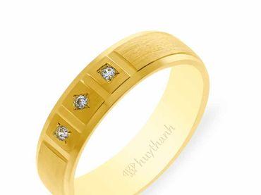 Nhẫn cưới NCP 13 - Huy Thanh Jewelry - Hình 3