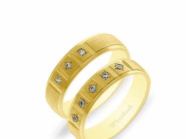 Nhẫn cưới NCP 13 - Huy Thanh Jewelry - Hình 1