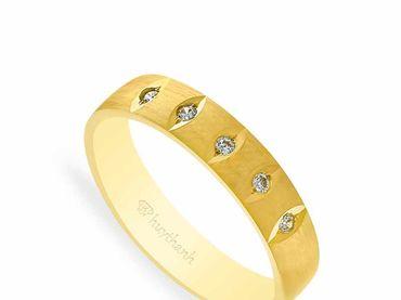 Nhẫn cưới NCP 16 - Huy Thanh Jewelry - Hình 2
