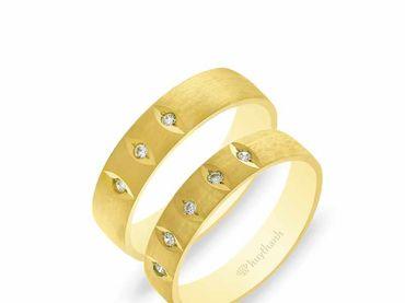 Nhẫn cưới NCP 16 - Huy Thanh Jewelry - Hình 1