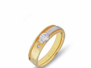 Nhẫn cưới La Nuit NC 317 - Huy Thanh Jewelry - Hình 2