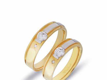 Nhẫn cưới La Nuit NC 317 - Huy Thanh Jewelry - Hình 3