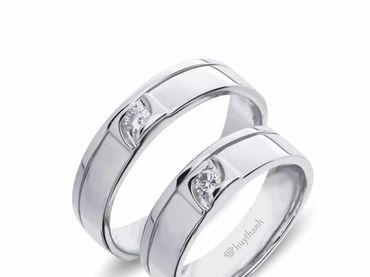 Nhẫn cưới Le Soleil NC 351 - Huy Thanh Jewelry - Hình 1