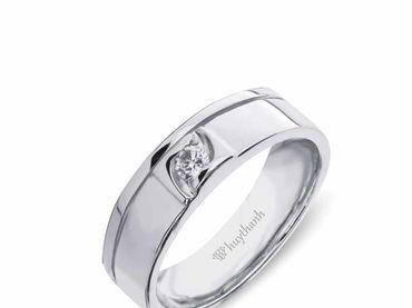 Nhẫn cưới Le Soleil NC 351 - Huy Thanh Jewelry - Hình 3