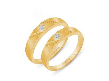 Nhẫn cưới Le Soleil NC 445 - Huy Thanh Jewelry - Hình 1