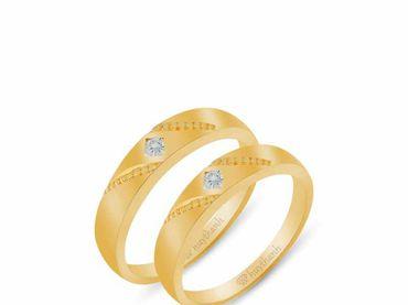Nhẫn cưới Le Soleil NC 445 - Huy Thanh Jewelry - Hình 6