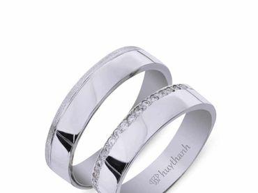 Nhẫn cưới Les Etoiles NC 338 - Huy Thanh Jewelry - Hình 3