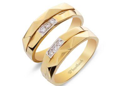 Nhẫn cưới Les Etoiles NC 350 - Huy Thanh Jewelry - Hình 1