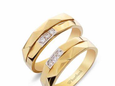 Nhẫn cưới Les Etoiles NC 350 - Huy Thanh Jewelry - Hình 3