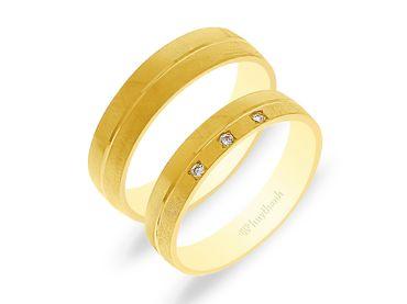 Nhẫn cưới NCP 04 - Huy Thanh Jewelry - Hình 1