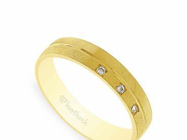 Nhẫn cưới NCP 04 - Huy Thanh Jewelry - Hình 5