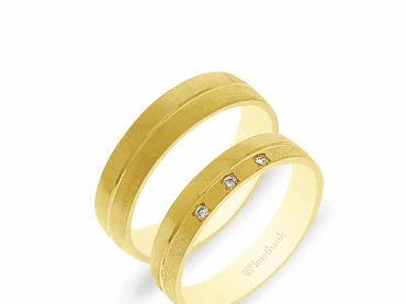 Nhẫn cưới NCP 04 - Huy Thanh Jewelry - Hình 7