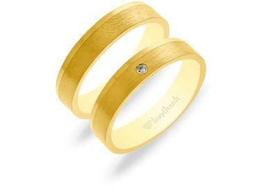 Nhẫn cưới NCP 07 - Huy Thanh Jewelry - Hình 1