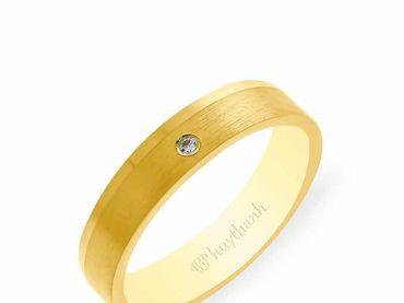 Nhẫn cưới NCP 07 - Huy Thanh Jewelry - Hình 3
