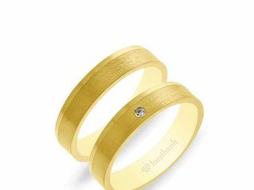 Nhẫn cưới NCP 07 - Huy Thanh Jewelry - Hình 7
