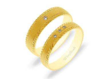 Nhẫn cưới NCP 10 - Huy Thanh Jewelry - Hình 1