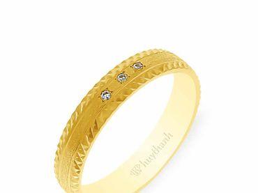 Nhẫn cưới NCP 10 - Huy Thanh Jewelry - Hình 2