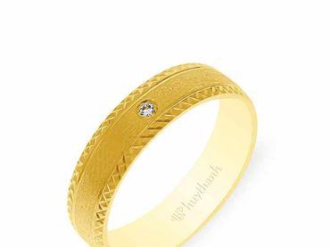 Nhẫn cưới NCP 10 - Huy Thanh Jewelry - Hình 4
