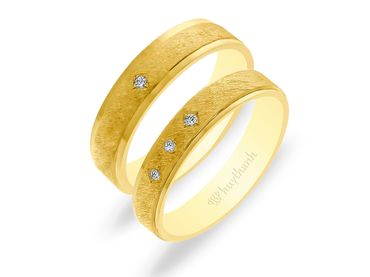 Nhẫn cưới NCP 14 - Huy Thanh Jewelry - Hình 1