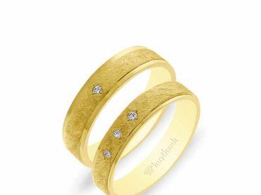 Nhẫn cưới NCP 14 - Huy Thanh Jewelry - Hình 2