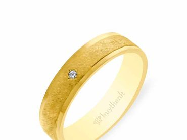 Nhẫn cưới NCP 14 - Huy Thanh Jewelry - Hình 7