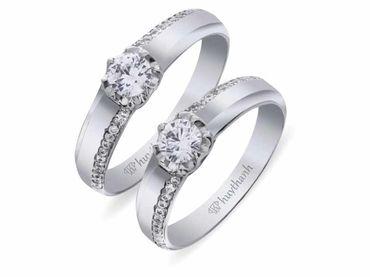 Nhẫn cưới La Nuit NC 315 - Huy Thanh Jewelry - Hình 2
