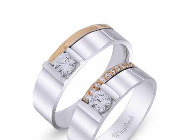 Nhẫn cưới La Nuit NC 330 - Huy Thanh Jewelry - Hình 1