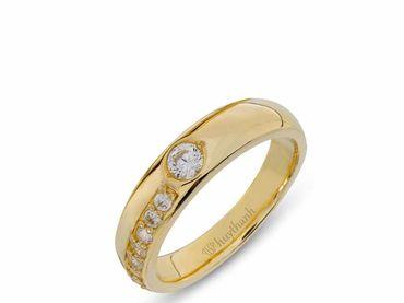 Nhẫn cưới La Nuit NC 333 - Huy Thanh Jewelry - Hình 2