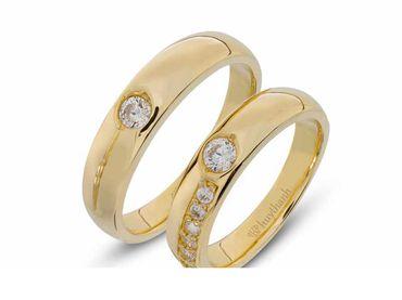 Nhẫn cưới La Nuit NC 333 - Huy Thanh Jewelry - Hình 1