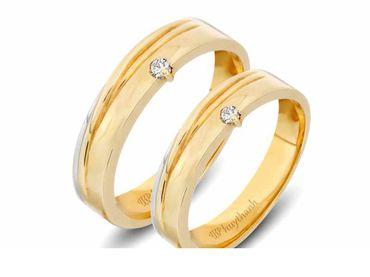 Nhẫn cưới Le Soleil NC 342 - Huy Thanh Jewelry - Hình 3