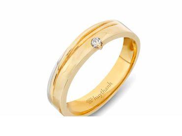 Nhẫn cưới Le Soleil NC 342 - Huy Thanh Jewelry - Hình 2