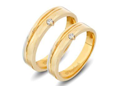 Nhẫn cưới Le Soleil NC 342 - Huy Thanh Jewelry - Hình 1