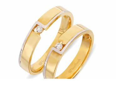 Nhẫn cưới Le Soleil NC 343 - Huy Thanh Jewelry - Hình 1