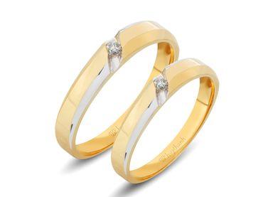 Nhẫn cưới Le Soleil NC 345 - Huy Thanh Jewelry - Hình 1
