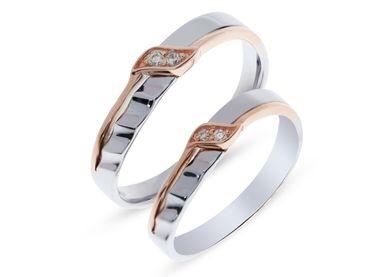 Nhẫn cưới Les Etoiles NC 324 - Huy Thanh Jewelry - Hình 1