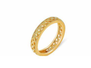 Nhẫn cưới Lisse trơn NC 450 - Huy Thanh Jewelry - Hình 3