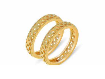Nhẫn cưới Lisse trơn NC 450 - Huy Thanh Jewelry - Hình 5