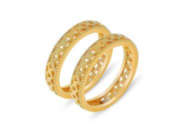 Nhẫn cưới Lisse trơn NC 450 - Huy Thanh Jewelry - Hình 1