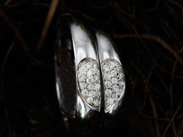 Nhẫn cưới kim cương D10126 HP USA - Hưng Phát USA - Hình 3
