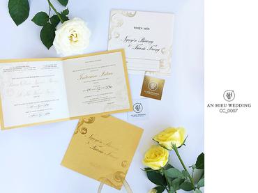 Luxury Wedding Invitations – Thiệp cao cấp - An Hieu Wedding - Hình 9